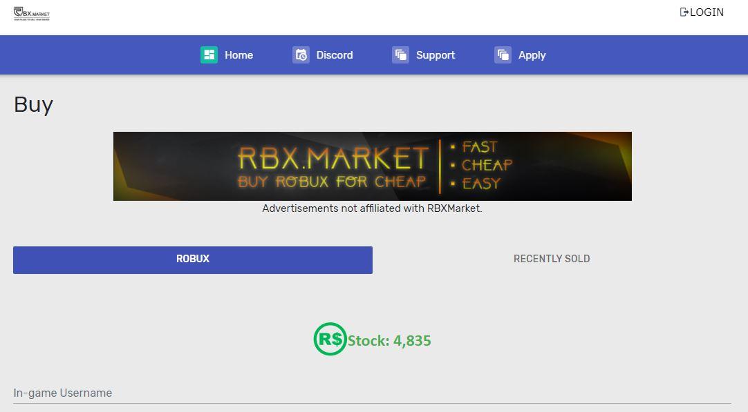 RBXMarket - Visit Now
