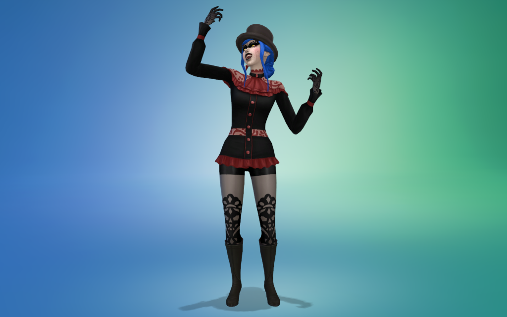 how to remove vampire pack from sims 4