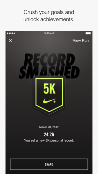 nike running 5k
