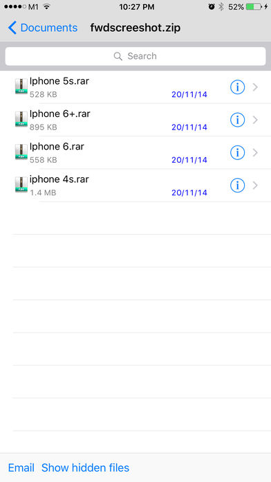 how to view.exe files on iphone
