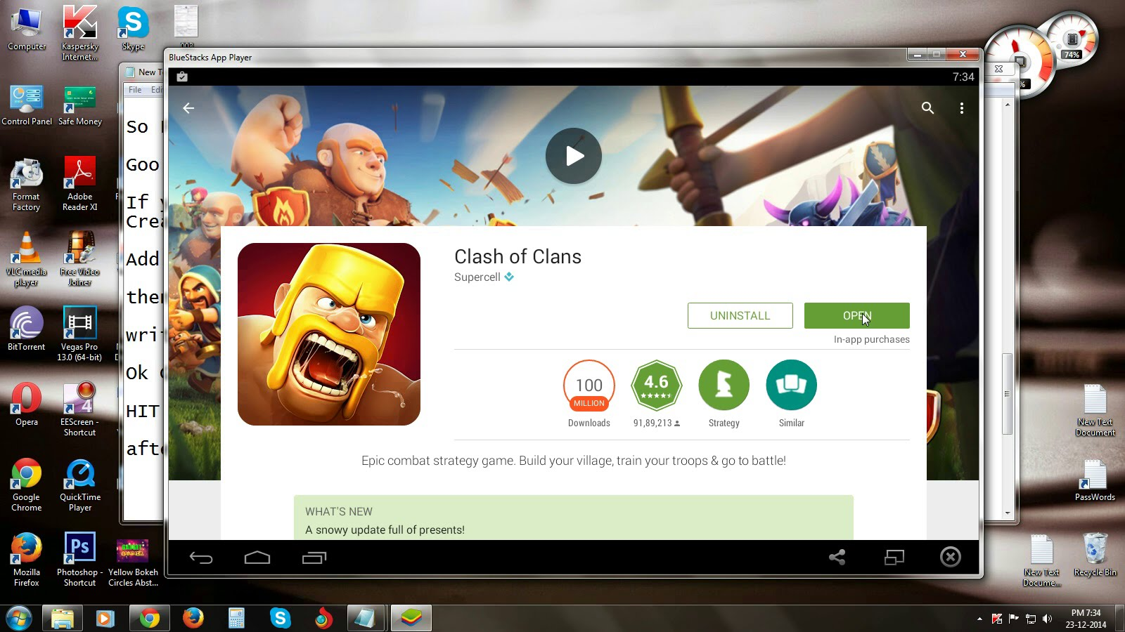 clash of clans windows 7 free download