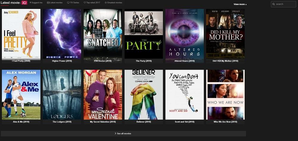 top illegal movie sites 2018