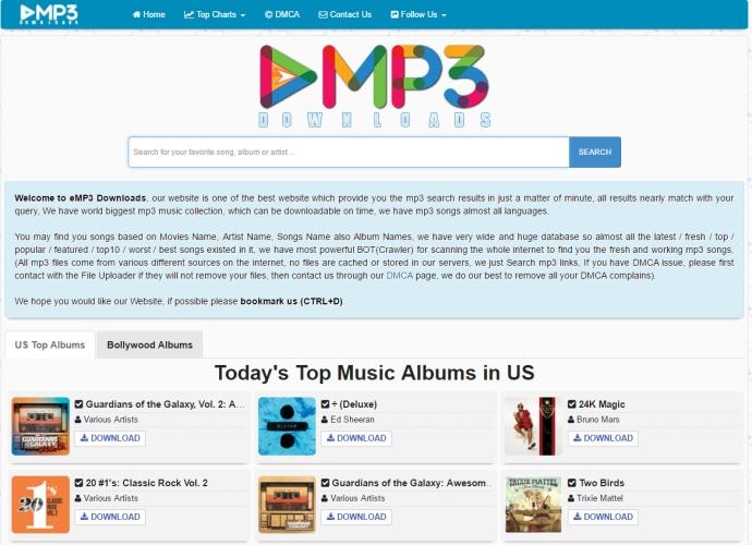 eMP3 Downloads - Visit Now