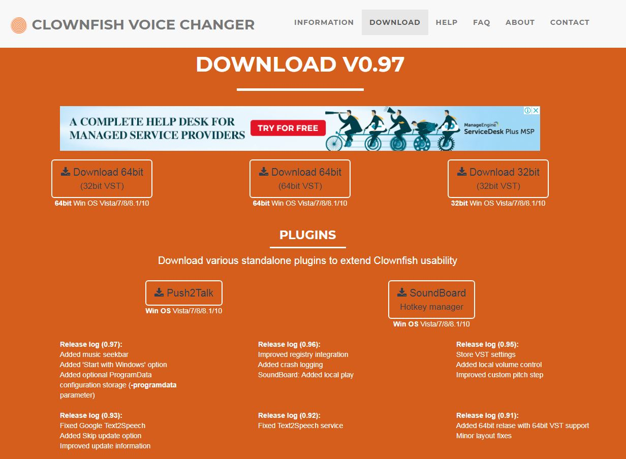Clownfish Voice Changer - Install Now