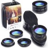 Aamazing Cell Phone Camera Lens 5 in 1 Kit