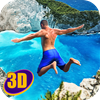 Swimming Pool Flip Diving 3D