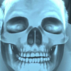Snapchat's X-ray skeleton skull filter