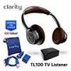 Clarity TL100 Wireless Bluetooth Over-Ear Sound Amplifying