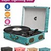 CMC Portable Bluetooth 3 Stereo Speed Turntable