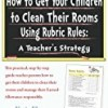 How to Get Your Children to Clean Their Rooms
