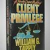 Client Privilege (Brady Coyne)