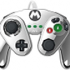 PDP Wired Fight Pad for Wii U - Metal Mario