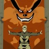 Naruto becomes friends with Kurama-Naruto meets all tailed beasts