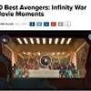 10 Best Avengers: Infinity War Movie Moments