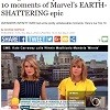 Avengers Infinity War: The Top 10 moments of Marvel's EARTH-SHATTERING epic