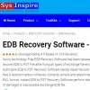 EDB Recovery Software by SysInspire