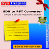 SysInspire Exchange EDB to PST Converter