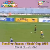 Brazil vs France Penalty Shoot-out World Cup 1986