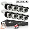 ANRAN 8CH 1080p POE NVR System