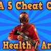 Max Health & Armor (Player Effect Cheat)