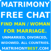 Free Matrimony Chat, Messages. Find Life Partner