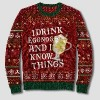 Game of Thrones Eggnog Pullover Sweater