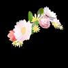 Snapchat's flower crown filter