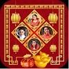 Lunar New Year Frames Collage