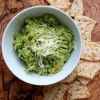 Grilled Guacamole with Parmesan and Basil