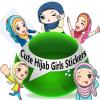 Cute Hijab Girls Stickers