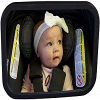 Baby Watch Baby Car Mirror with Light