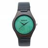 TruWood Leaf Green Wooden Watch