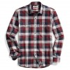 Goodthreads Men's Plaid Herringbone Shirt