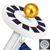 GRDE Solar Flag Pole Light