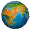 world map atlas 2019