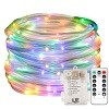 33ft Multi-colored LED Rope Light