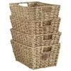 VonHaus Seagrass Storage Basket