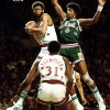 Julius Erving Game Winning Three Point Buzzer Beater