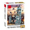 A toy A dream SuperHeroes Marvel Avengers Tower Building Blocks
