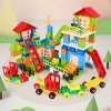 Tumama City House Building Blocks