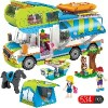 A toy A dream City Outing Camper Building Blocks