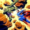 Incredible Hulk VS Superman