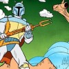 Boba Fett debuted as a cartoon character