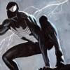 Spider-Man's black suit