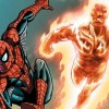 Spider-Man and Human Torch