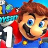 Super Mario Odyssey - Gameplay Walkthrough - Full 50 Minutes Demo