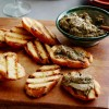 Mushroom Pesto Crostini