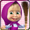 Masha and the Bear Clean House